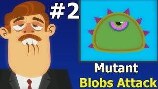- БОЛЬШОЙ ЗЕЛЕНЫЙ СЛИЗЕНЬ Tales from Space Mutant Blobs Attack