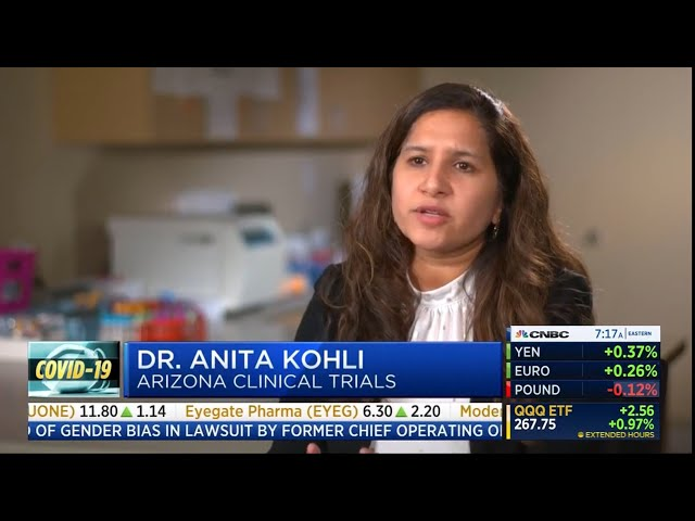 AZ Clinical Trials on CNBC -