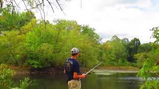Bass Fishing A New Pond
