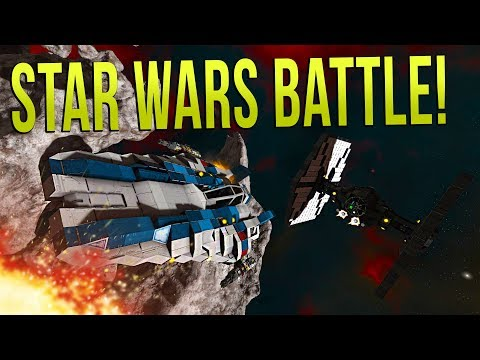 Repeat FIRST ORDER vs RESISTANCE! - Space Engineers STAR