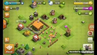Começando no Clash of Clans:#1 Liberei a arqueiro no quartel!!!