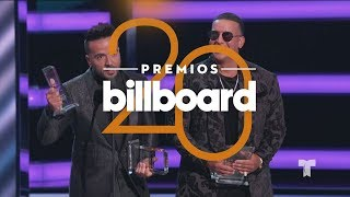 ¡Luis Fonsi, Daddy Yankee y Justin Bieber triunfan con seis premios!   Premios Billboards 2018