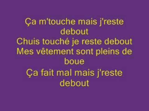Sexion D'assaut  Je reste debout paroles