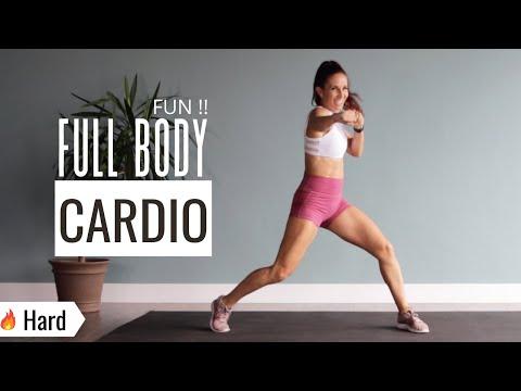 DAY 3 : 40 MIN FUN CARDIO Music Workout/ No Weights/ Kickbox, Dance, and Sweat!