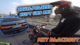 ZIVILPOLIZEI hupt uns an - mit Blackout - MotoVlog