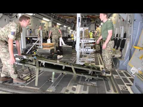 RAF C-17 departs for Tunisia to evacuate injured Britons