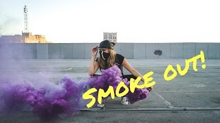 Models and SMOKE BOMBS!