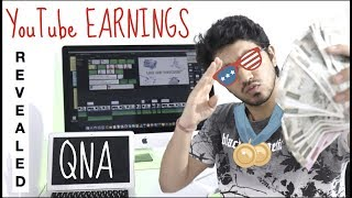 My YouTube Earnings Revealed | Future Plans | QNA - Episode 1