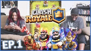 YOU MAKE ME WANT TO PUNCH PUPPIES! - Clash Royale | Mobile Series Ep.23