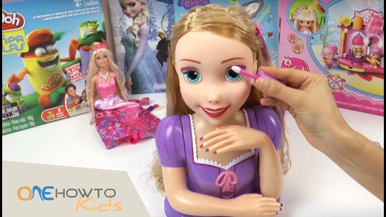 Hairstyles For Rapunzel Styling Head