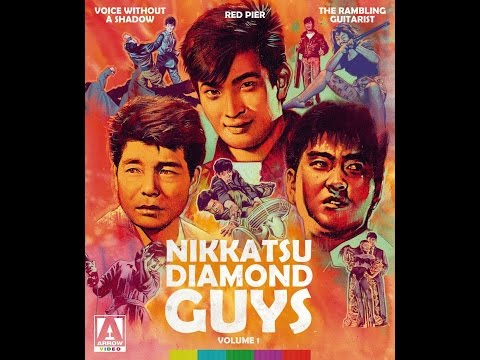 Nikkatsu Diamond Guys Vol 1 - Review/Unboxing - (Arrow Video USA)