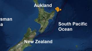 New Caledonia hit by HUGE 63 Earthquake with 16 Tremors