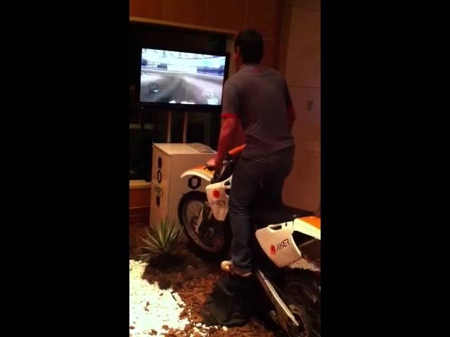 Motocross Simulator VGP / AKER