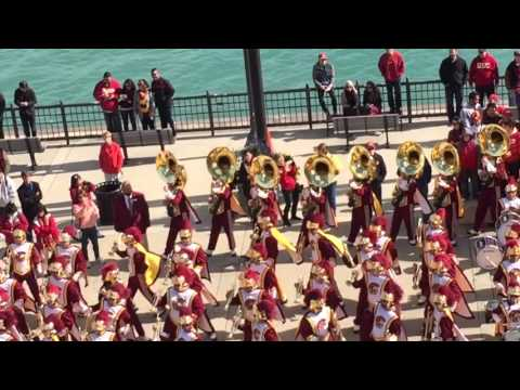 Uptown Funk Navy Pier USC TMB 2015