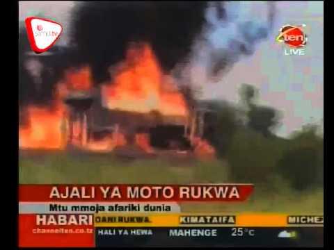 Ajali ya Moto Yaua Mmoja Rukwa new