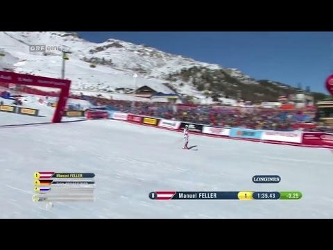 St Moritz 2017 Slalom 2 Dg Manuel Feller Lauf Ski Wm Herren 19 2 2017 Youtube