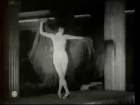 French Music-Hall Français 1920-1930's Le Nu Sur La Scène