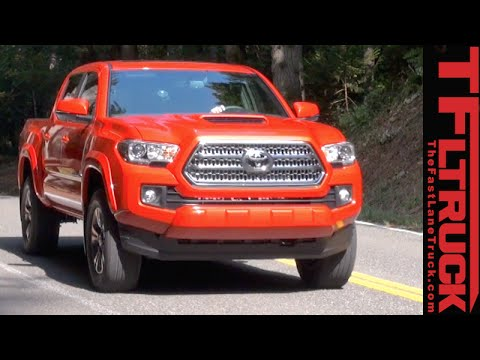2016 Toyota Tacoma Trd Sport Off Road And Much More Preview You
