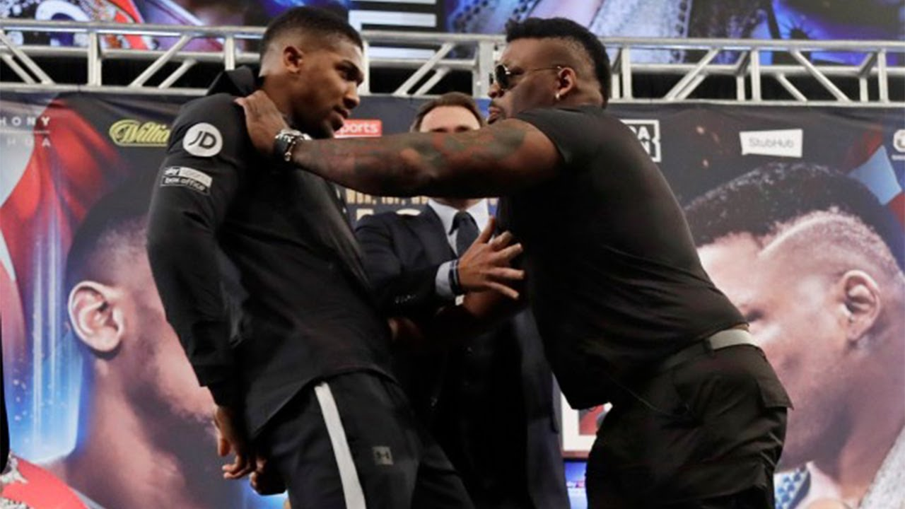 When Anthony Joshua Gets Mad (Part Two) - YouTube