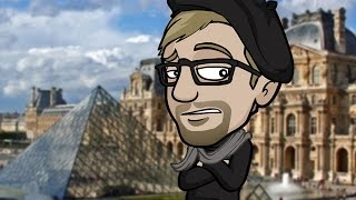 JAZZA Visits the LOUVRE in PARIS! + UPDATE