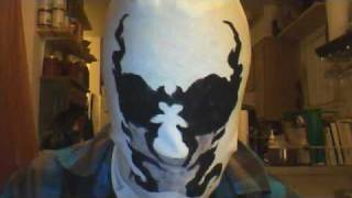 Color-Changing Rorschach Mask