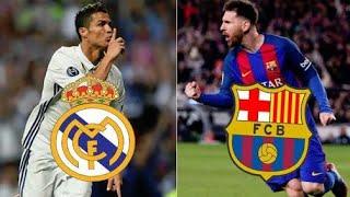 RAP REAL MADRID VS BARCELONA