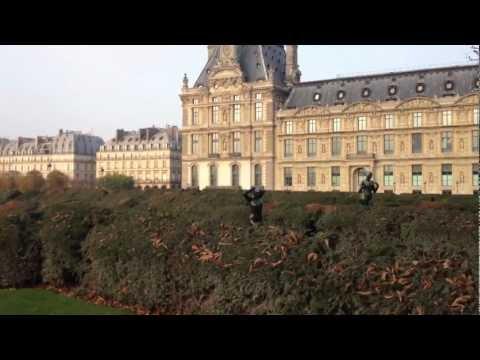 Visite du Jardin des Tuileries à Paris  - HD 1080p