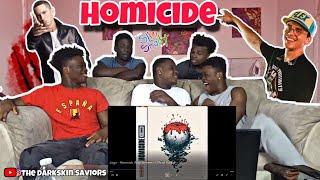 Logic - Homicide (feat. Eminem) (Official Audio)(Reaction)