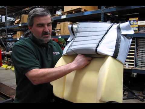 Atlantic British Presents: Replacing Seat Covers and Foam on Defender 90