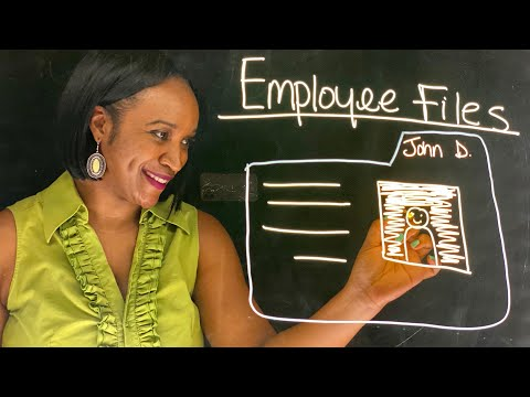 Employee Files (Personnel Files) Do's and Don'ts | HR Files Record Management