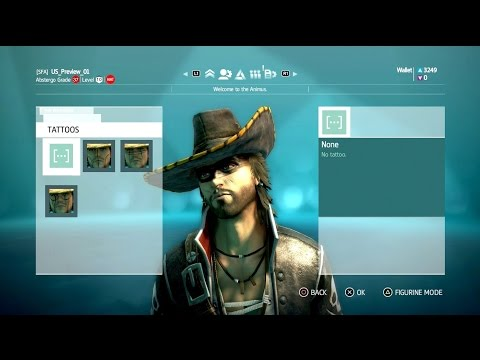 Video Presentation of Assassin's Creed IV online's characters -