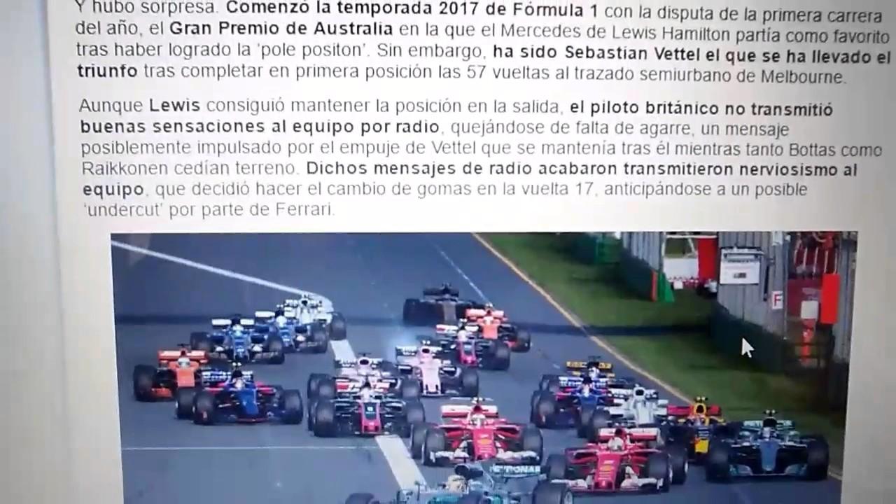 Resumen carrera GP Australia - YouTube