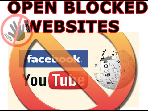 How to unblock websites at school (easy way)