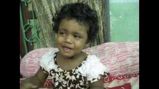 Adrija memorized the poem - Sukumar Ray