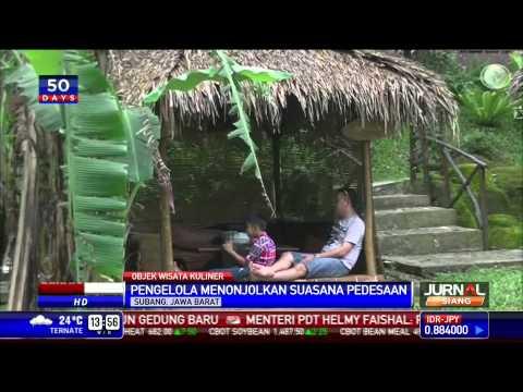 Lesehan Kampung Kabayan Tonjolkan Suasana Pedesaan Youtube