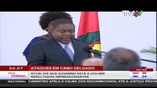 Ataques em Cabo Delgado:  Nyusi diz que governo está a colher resultados impressionantes