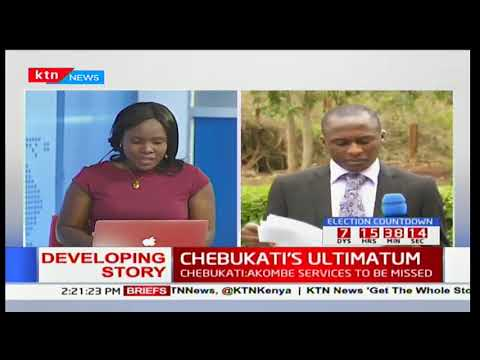 Download Youtube: CHEBUKATI'S ULTIMATUM: Chebukati's statement on election preparedness