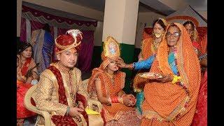 विदाई||कुमाऊँनी रीति रिवाज ||Praveen weds soni |||Pahadi Wedding || Song Babul Ka Yeh Ghar||