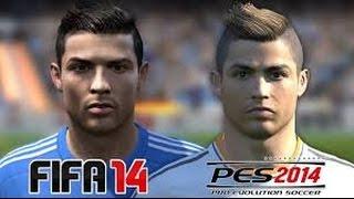 FIFA 2014 VS PES 2014