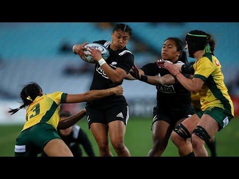 HIGHLIGHTS: Australia v Black Ferns First Test - 2018