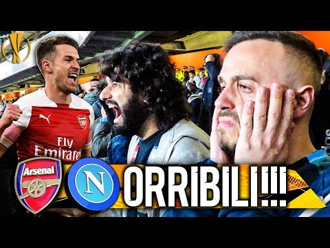 ORRIBILI!!! ARSENAL 2-0 NAPOLI | LIVE REACTION NAPOLETANI EMIRATES STADIUM 4K