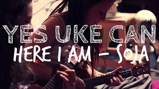 Here I am ~ SOJA [Yes Uke Can] ☼ In LeGrenierDeBenoit
