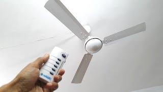 12V BLDC Solar Ceiling Fan - Any Good?