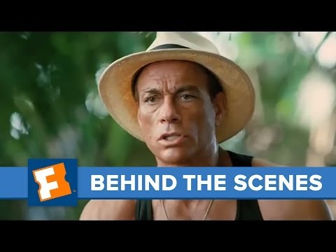 Welcome to the Jungle - Adam Brody and Jean-Claude Van Damme   Behind the Scenes   FandangoMovies