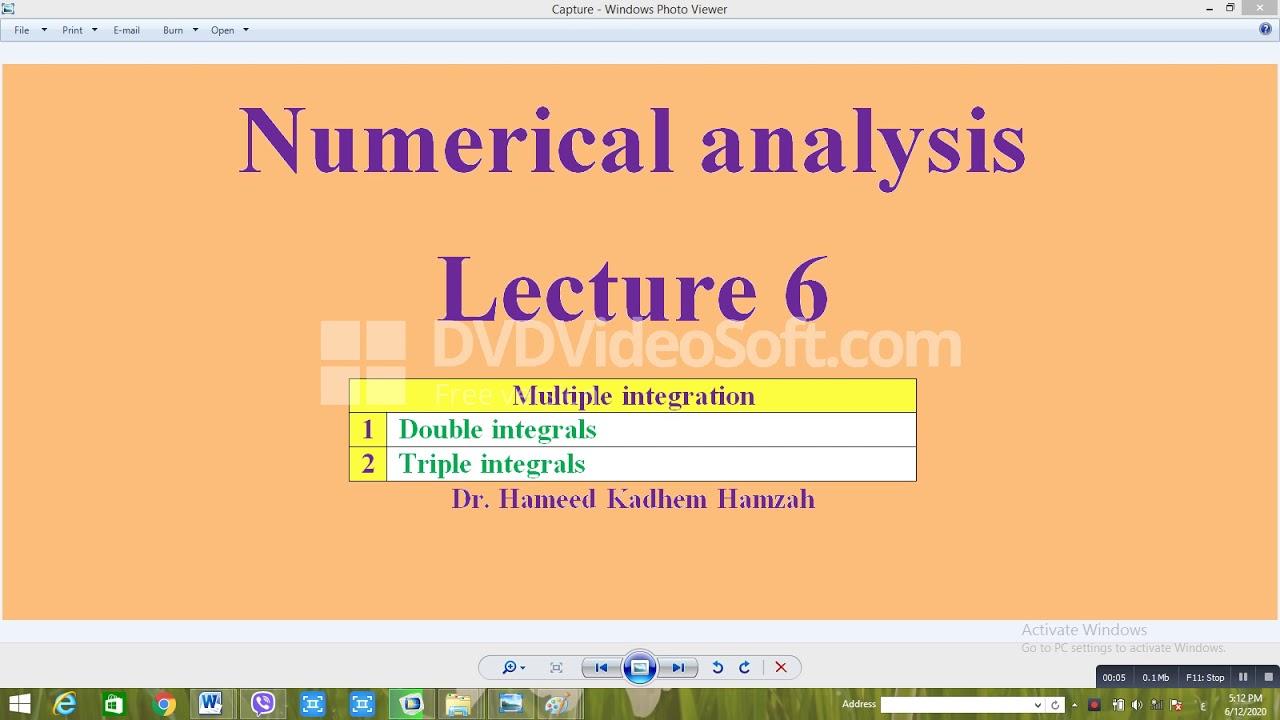 تحليلات عددية