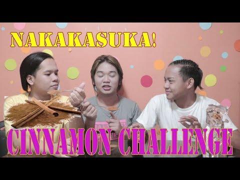 CINAMON CHALLENGE! (HINDI NAMIN KINAYA MGA BEKS!)