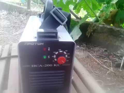 Сварочный инвертор Протон ИСА 200 КС