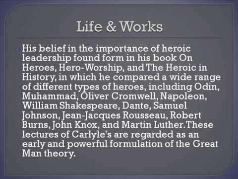 Thomas Carlyle Life & Works