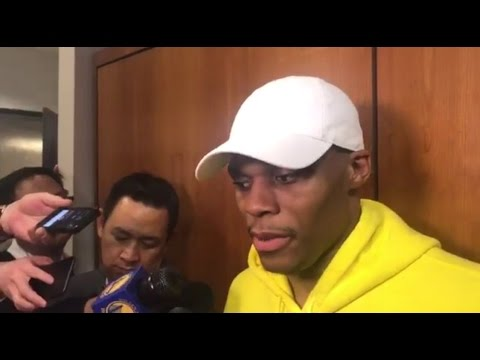 Russell Westbrook On His Insane Travel. HoopJab NBA