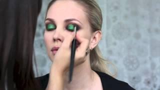 Визажист Наталья Шик. Life in color 002. Макияж smoky eyes(зеленый).